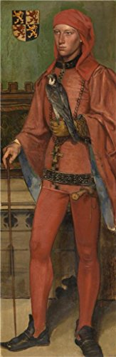 Oil Painting 'Henri Leys - John III, Duke Of Brabant, 19th Century' 30 x 92 inch / 76 x 234 cm , on High Definition HD canvas prints is for Gifts And Bed Room, Dining Room And Kids Room decor, fine by LuxorPre