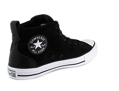 All Black Chuck Black Mid Sneaker Unisex Top Star Taylor Suede White Street Converse wtgPq6C