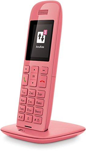 Deutsche Telekom Speedphone 10 VoIP IP Schnurlostelefon Limited Edition rosé