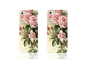 Bloom Pink Peony Photo Hard 3D Rough Case , Fashion Image Case Diy, Personalized Custom Durable 3d Case For iPhone 5 & iPhone 5S
