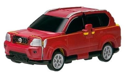 Amazon Com Bandai Voov Vs05 Transforming Toy Car Nissan X Trail