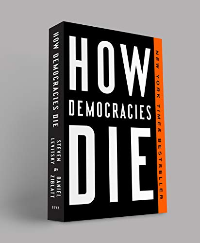 Book cover from How Democracies Die by Steven Levitsky