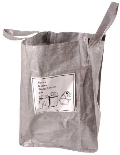 Esschert Design Recycling Bag Cans