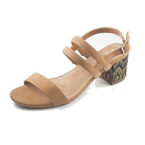 Aerosoles Womens Mid Size Open Toe Casual Strappy Sandals