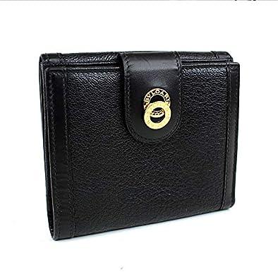 c37df5104f97 Amazon | (ブルガリ) BVLGARI 二つ折り財布 Wホック財布 黒 i816 [中古 ...