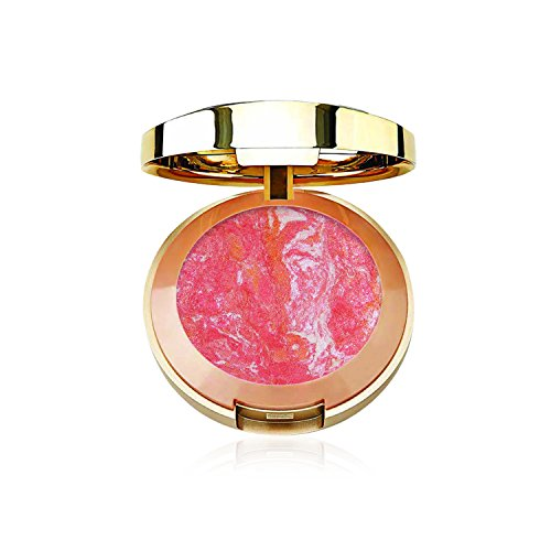 Milani Baked Blush - Corallina (0.12 Ounce) Vegan, Cruelty-Free Powder Blush - Shape, Contour & Highlight Face for a Shimmery or Matte Finish ()