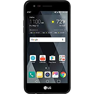 "LG Phoenix 3 M150, (16GB, 1.5GB RAM), 5"" Full HD Display, Dual Camera, 2500 mAh Battery, Android 7.0 Nougat, 4G LTE, GSM Unlocked Smartphone, - Titan Black"
