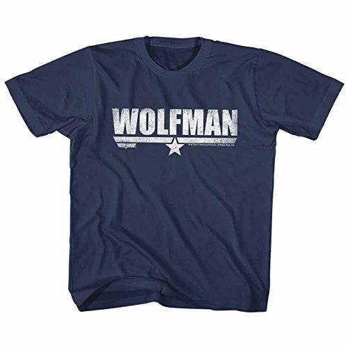 American Classics Top Gun Movie Action Drama Wolfman Navy Little Boys Toddler T-Shirt - Gun Wolfgang