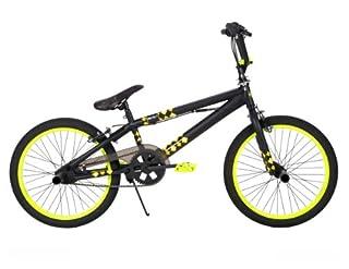Huffy BMX Revolt Bike, Matte Black, 20-Inch (B00A0I9G3O