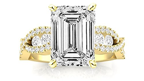 0.68 Ct Emerald Cut Diamond - 8