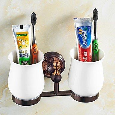 Zyt Porta Cepillo de Dientes/Gadget para el baño Dorado a Pared 8.3 * 3.1 * 4.5 Inch latón Neoclassico: Amazon.es: Hogar
