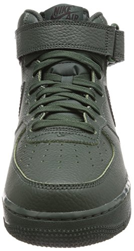 Jordan Nike Barna Luft 5 Retro Prem Lav Gg Basketball Sko Grove Grønn / Svart-lund Grønn