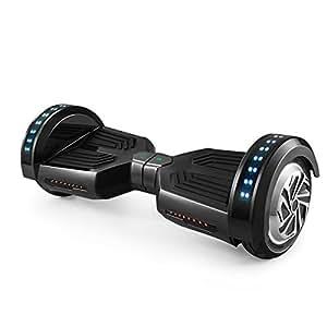 """Freeman F12 - Patinete electrico de 250W con bateria Samsung con certificado UL2272, altavoz de 3W, ruedas de 8"""", color Negro"""