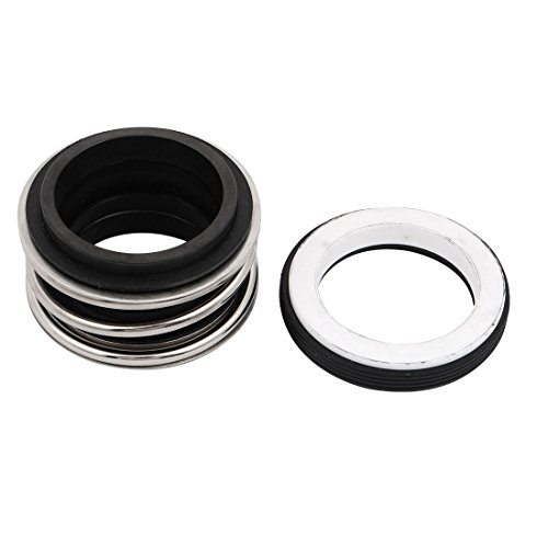 uxcell MBI-38 Single Coil Spring Bellows Mechanical Seal 38mm Inner Diameter ()
