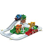 TOMY John Deere Big Loader Motorized Toy Train Set with Tractor & Magical Farm for Kids Fun Playtime