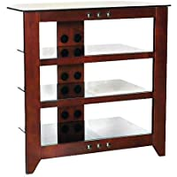SANUS 4 SHELF AV STAND CHERRY NIC