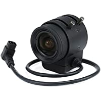 Monoprice 107547 1/3-Inch IR F1.2 Varifocal DC Iris CS Mount Lens with IR Correction, 3-9mm Fixed Lens for Other Cameras