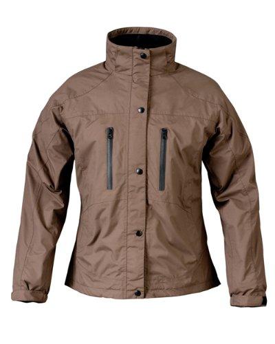 Mossi Ladies RX Rain Jacket (Brown, Medium)