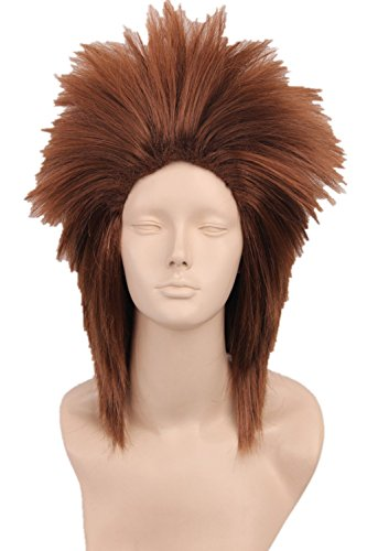 Women's or Men's Cosplay Wig Halloween Party Costume Hair (Akimichi Chōji)