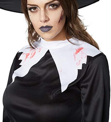 dressforfun 900434- Disfraz de Mujer Bruja Espeluznante, Disfraz de Bruja parcialmente Deshilachado y ensangrentado (S | No. 302230): Amazon.es: Productos para mascotas