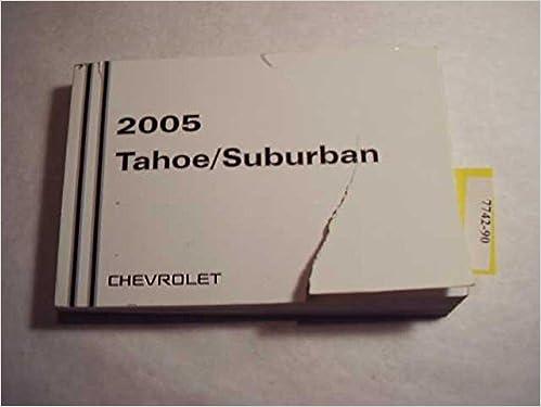 2005 suburban owners manual