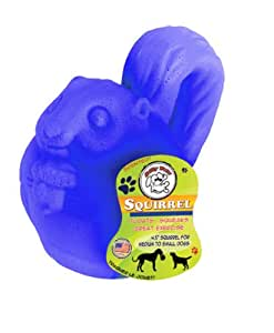 Jolly Pets 4-1/2-Inch Vanilla Scented Jolly Critter Squirrel, Blue