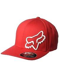 Fox Men's Flex 45 Flexfit HAT, Dark Red, L/XL