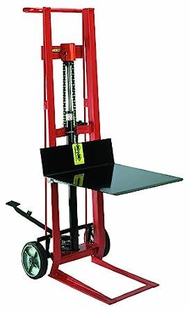 Wesco 260002 Steel Frame 2 Wheeled Hydraulic Pedalift 750