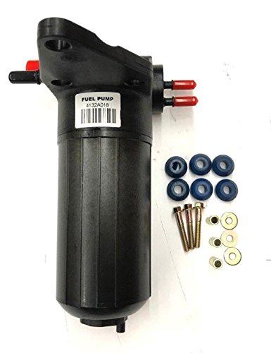 (Diesel Fuel Lift Pump Oil Water Separator ULPK0038 4132A018 Perkins 13.5V Wit Repair Kit Fits For Massey Ferguson 471 481 492 573 583 593 2650 2660 2670 2680 5425 5435 5450 )