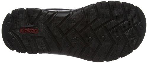 Rieker Mens Sandale Bleu / Noir Bleu / Noir