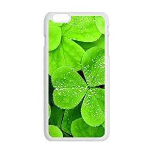 Personalized Creative Cell Phone Case For iphone 5 5s ,glam lucky clover with water drops