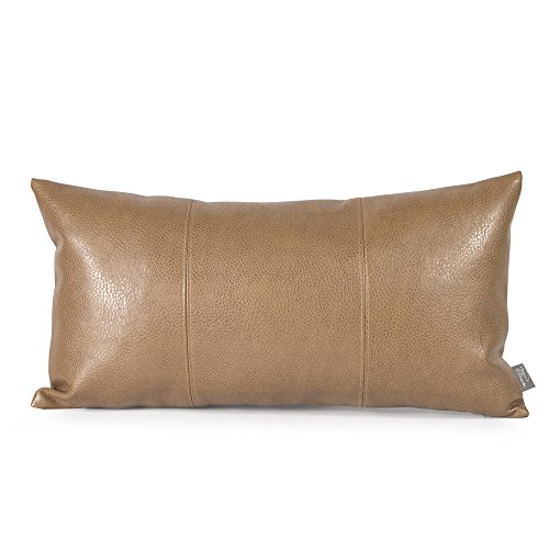 Howard Elliott 4-191 Kidney Pillow, Avanti Bronze (Chair Rocker Scroll Puff)