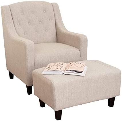 Noble House Rodrigo Arm Chair and Ottoman