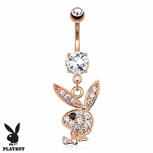 Playboy Belly Button Ring - 1