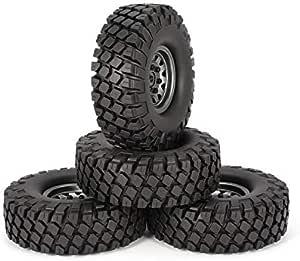 KNOSSOS 4pcs 6020 + 617GL 1.9in Neumáticos de Goma ...