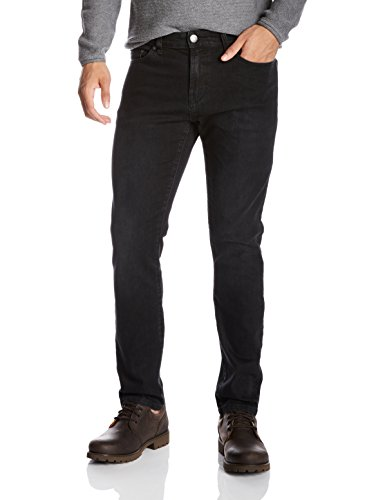Quality+Durables+Co.+Men%27s+Stretch+Cotton+Athletic-Fit+Jean+38+x+33+Black