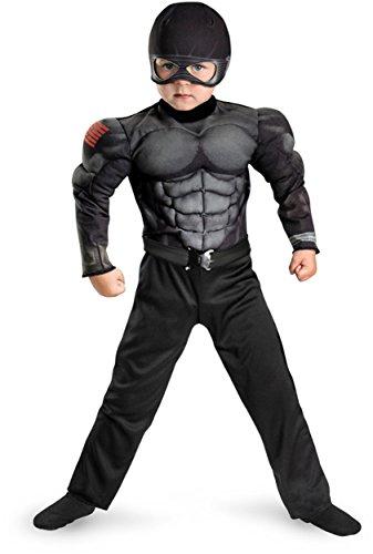 G.i. Joe Retaliation Snake Eyes Toddler Muscle Costume,