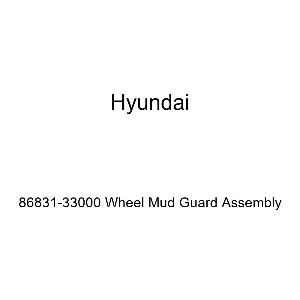 Genuine Hyundai 86831-33000 Wheel Mud Guard Assembly