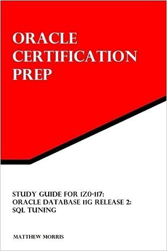 Buy 1Z0-117, Oracle Database 11G Release 2: SQL Tuning (Oracle ...