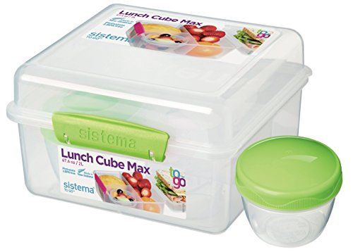 Lunch Cube - Sistema Lunch Cube Max To Go 2L (Colors may vary)