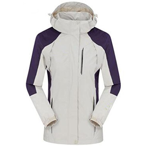 Donna Invecchiato Medio Sottile Autunno Lai Grandi Sezione Giacche White All'aperto Dimensioni Wu Impermeabile Di Single skin Cappotto Alpinista ZIa8nq5