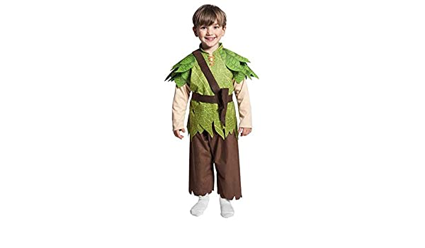 Joker jc056-m - Disfraz Peter Pan M, multicolor: Amazon.es ...