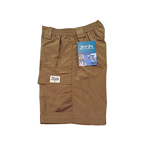 - Bimini Bay Outfitters Grand Cayman Nylon Short, Dark Khaki L
