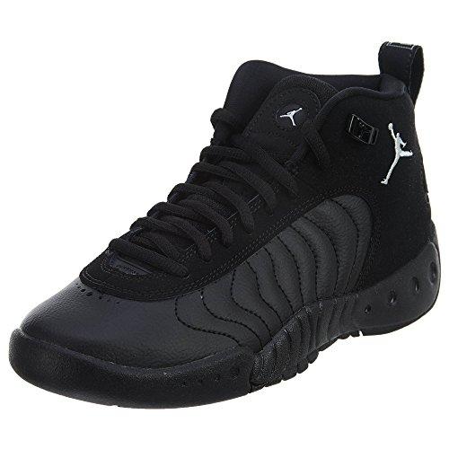 Kids Nike Jumpman BG Jordan White Black Pro Jordan black pq55wZT
