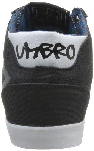 Umbro Terrace Hi Canvas Herren Sneaker Schwarz - Noir (214 Noir/Blanc/Schiste)