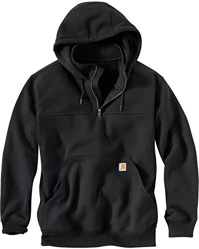 Carhartt Men's Rain Defender Paxton Heavyweight Hooded Sweatshirt, Black, Large from Carhartt
