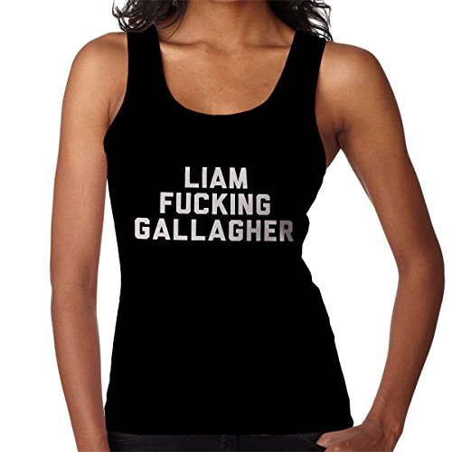 Coto7 Oasis Liam Fucking Gallagher Women's Vest Liam Gallagher Oasis