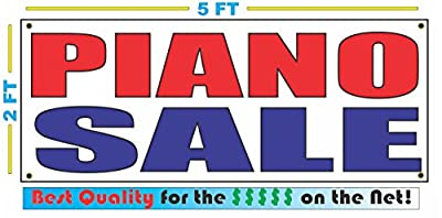PIANO SALE Banner Sign