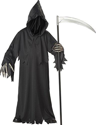 California Costumes Toys Grim Reaper Deluxe, Medium - The Reaper Halloween Costume