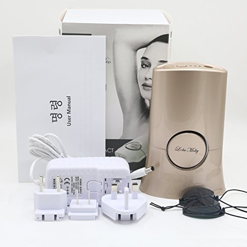 Stingna Newest Underarm Leg Armpit Hair Removal Painless IPL Laser Permanent Hair Removal Epilator 300000 Pulses Home Beauty Device (GOLD)